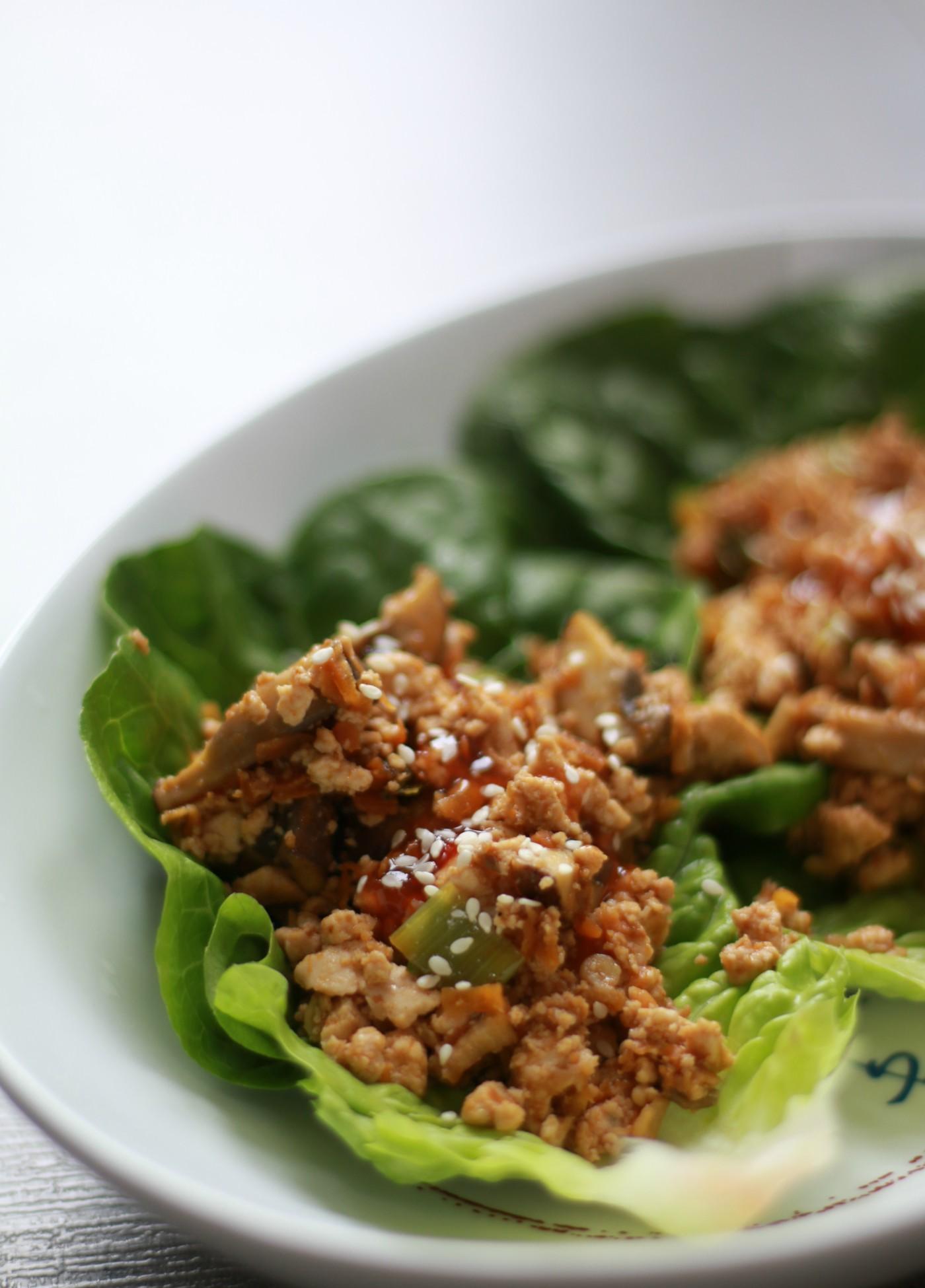 sla wraps - lunchen zonder brood