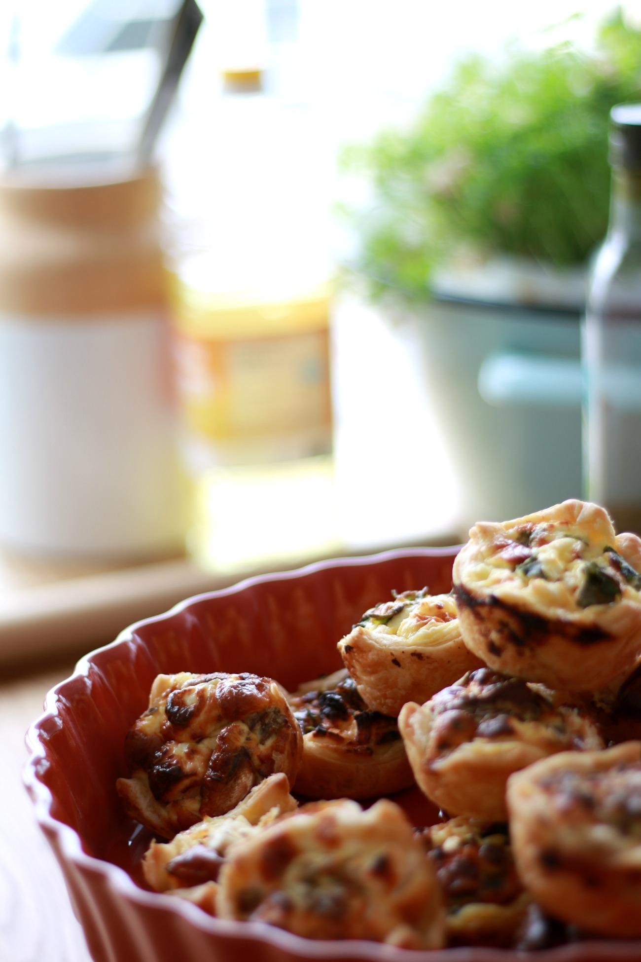 mini quiches recepten
