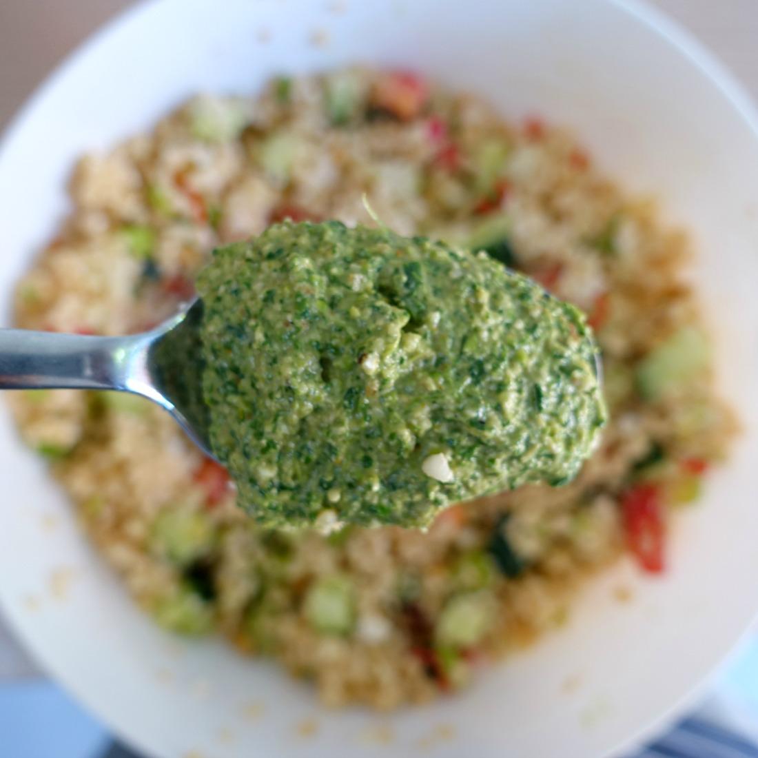 simpele salade recept