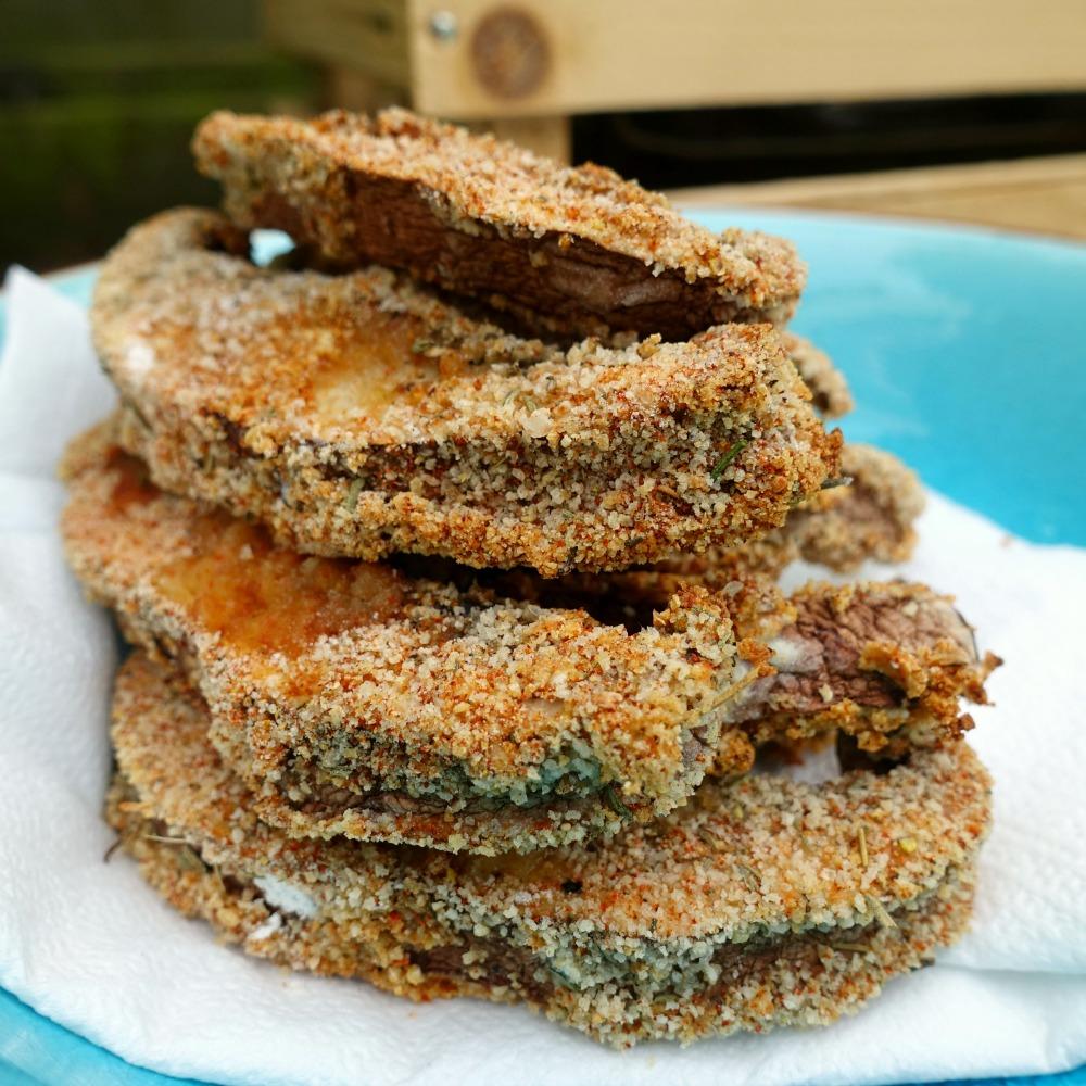 portobello snacks uit de oven