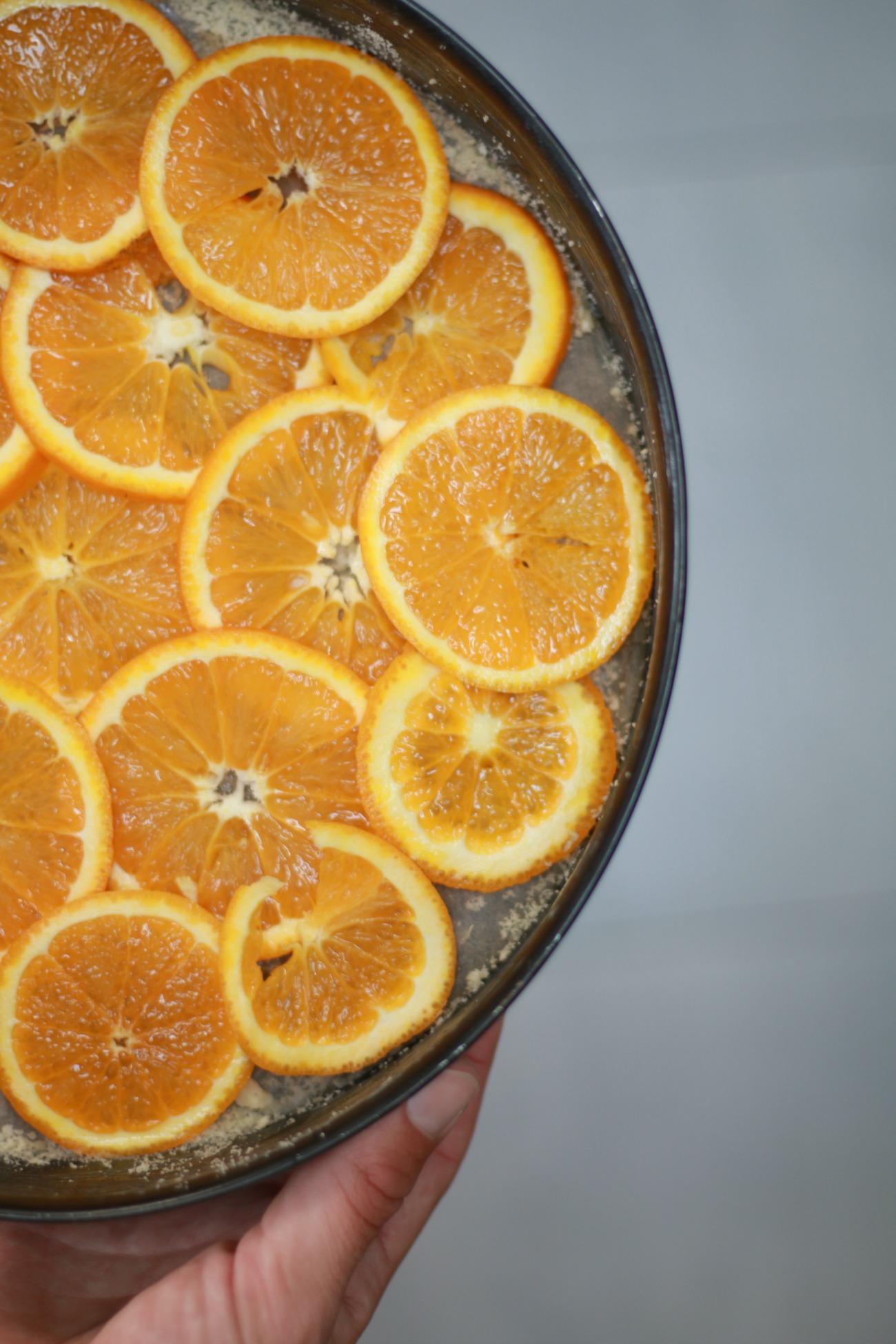 recept voor sinaasappelcake zonder suiker