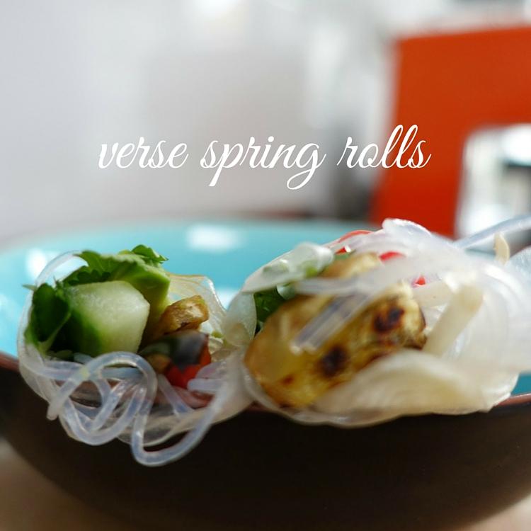 spring rolls recept