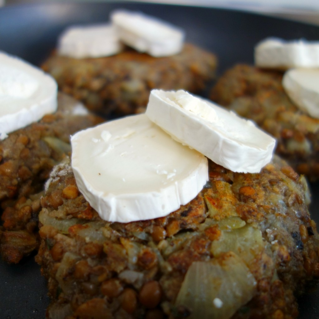 vegaburger recept met linzen