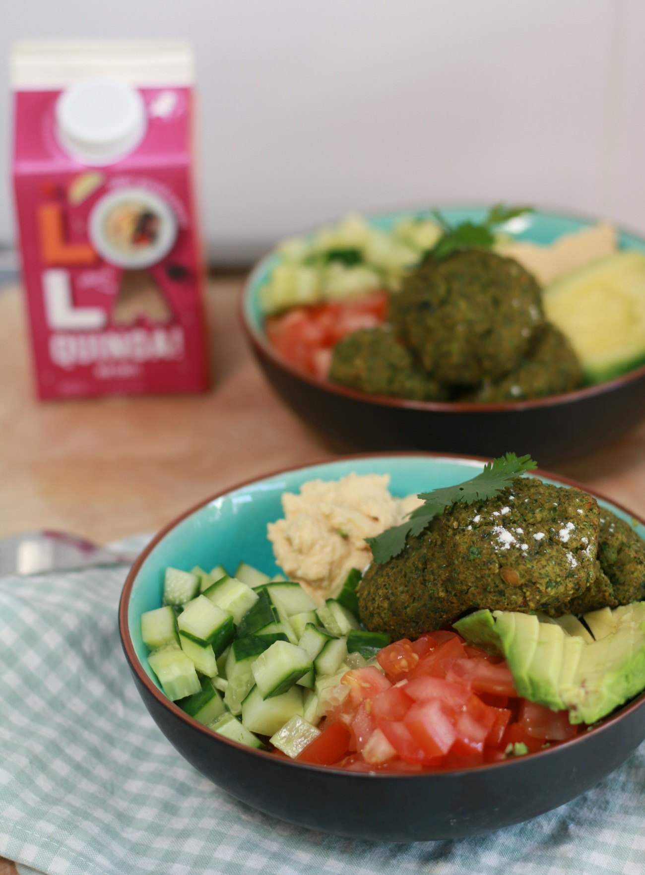 vegan bowl recept