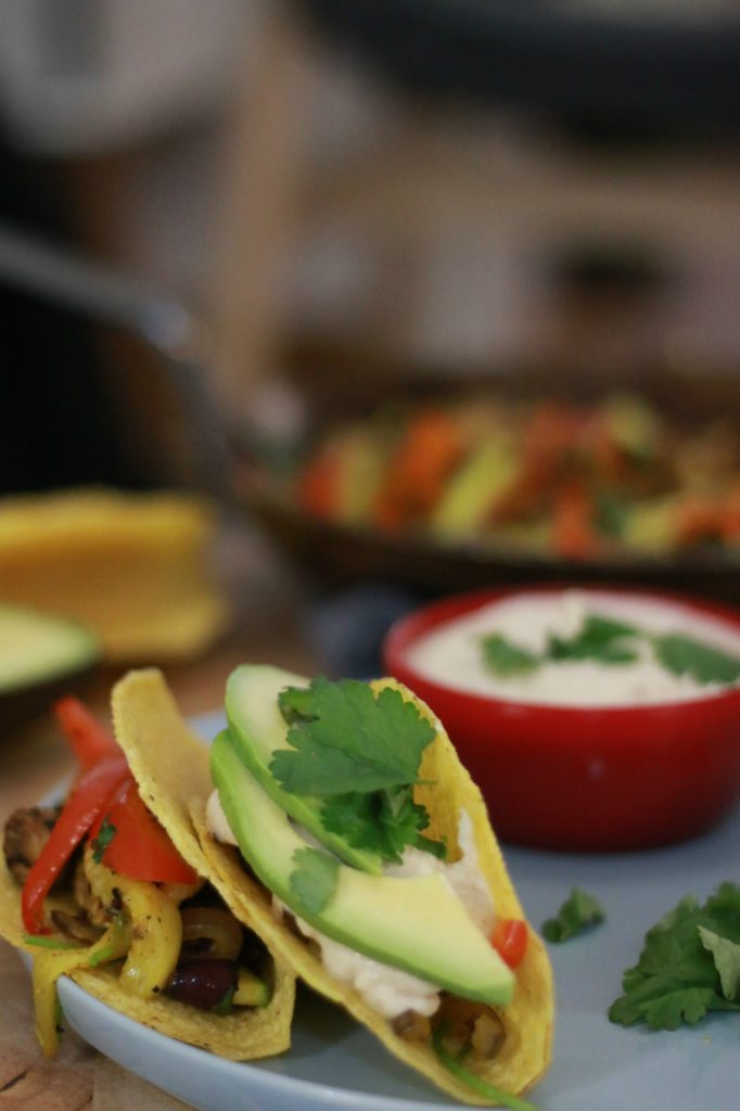 vegan taco's recept