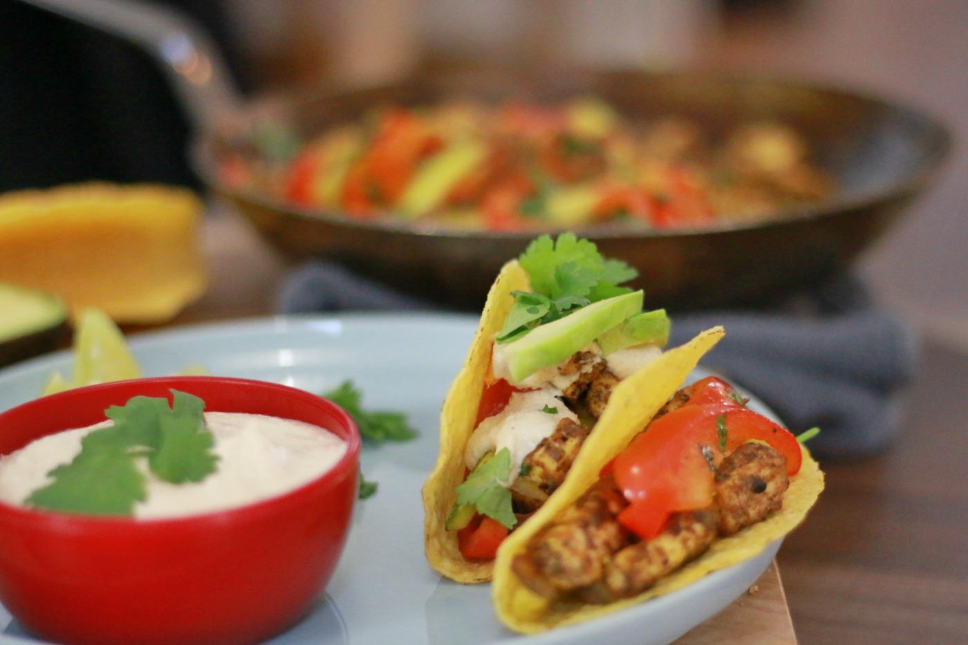 vegan taco's