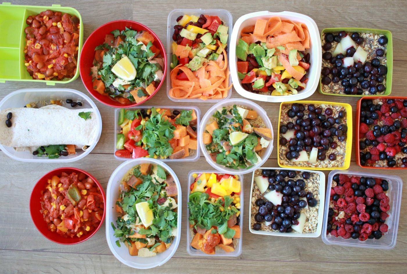 gezond weekmenu maken - voorbeeld