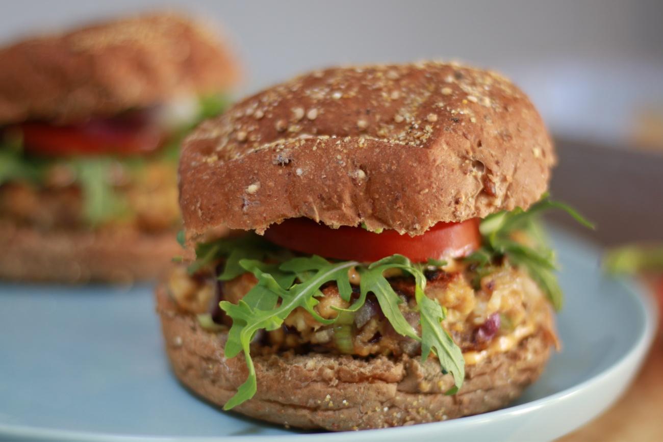 vegan tofu burger recept