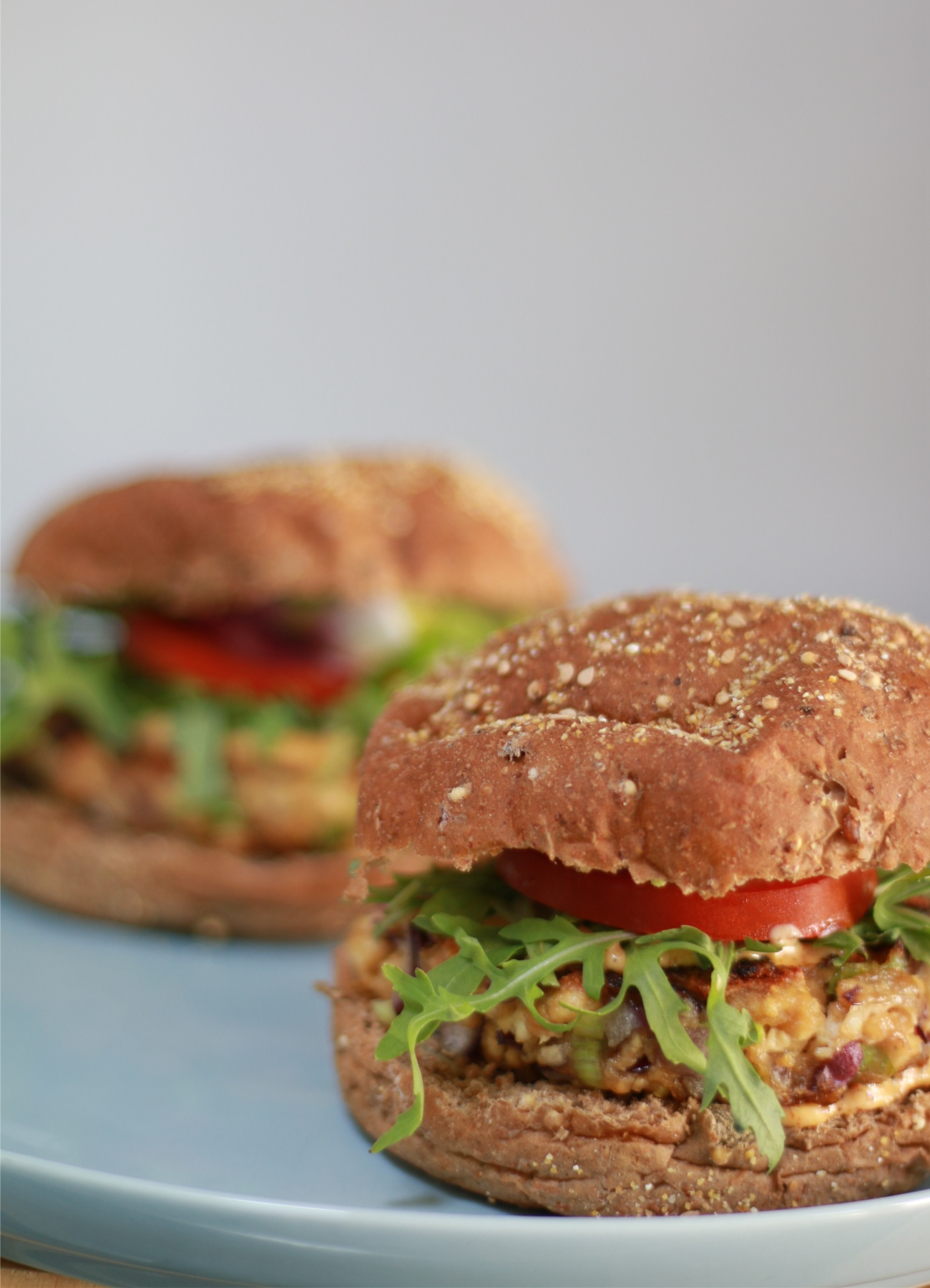 vegan burger recept - tofu burger