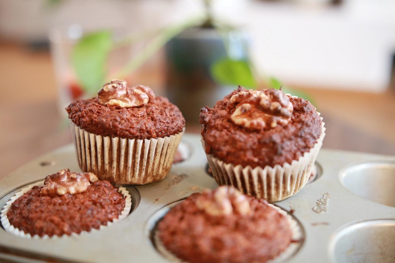 gezonde ontbijtmuffins recept