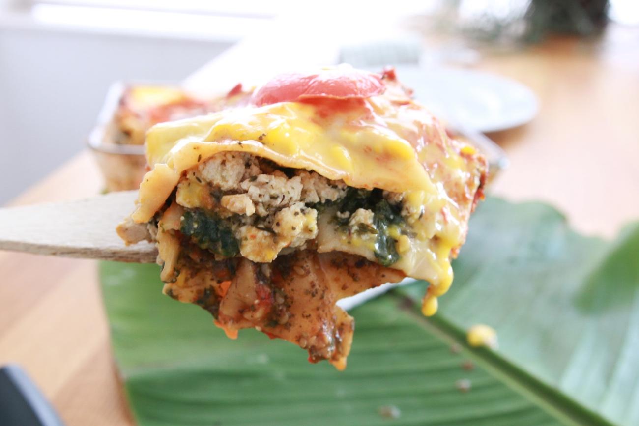 lasagne recept zonder vlees