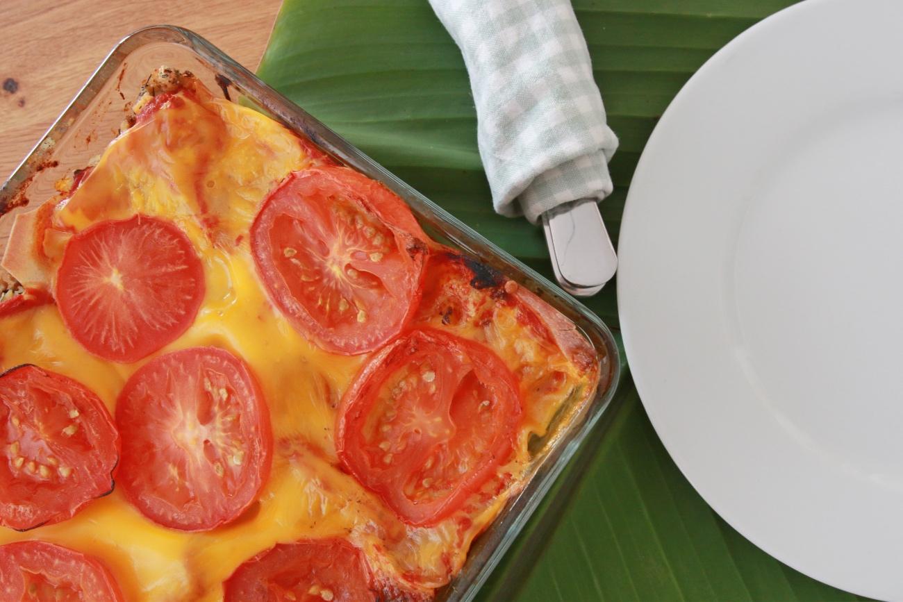 plantaardige lasagne