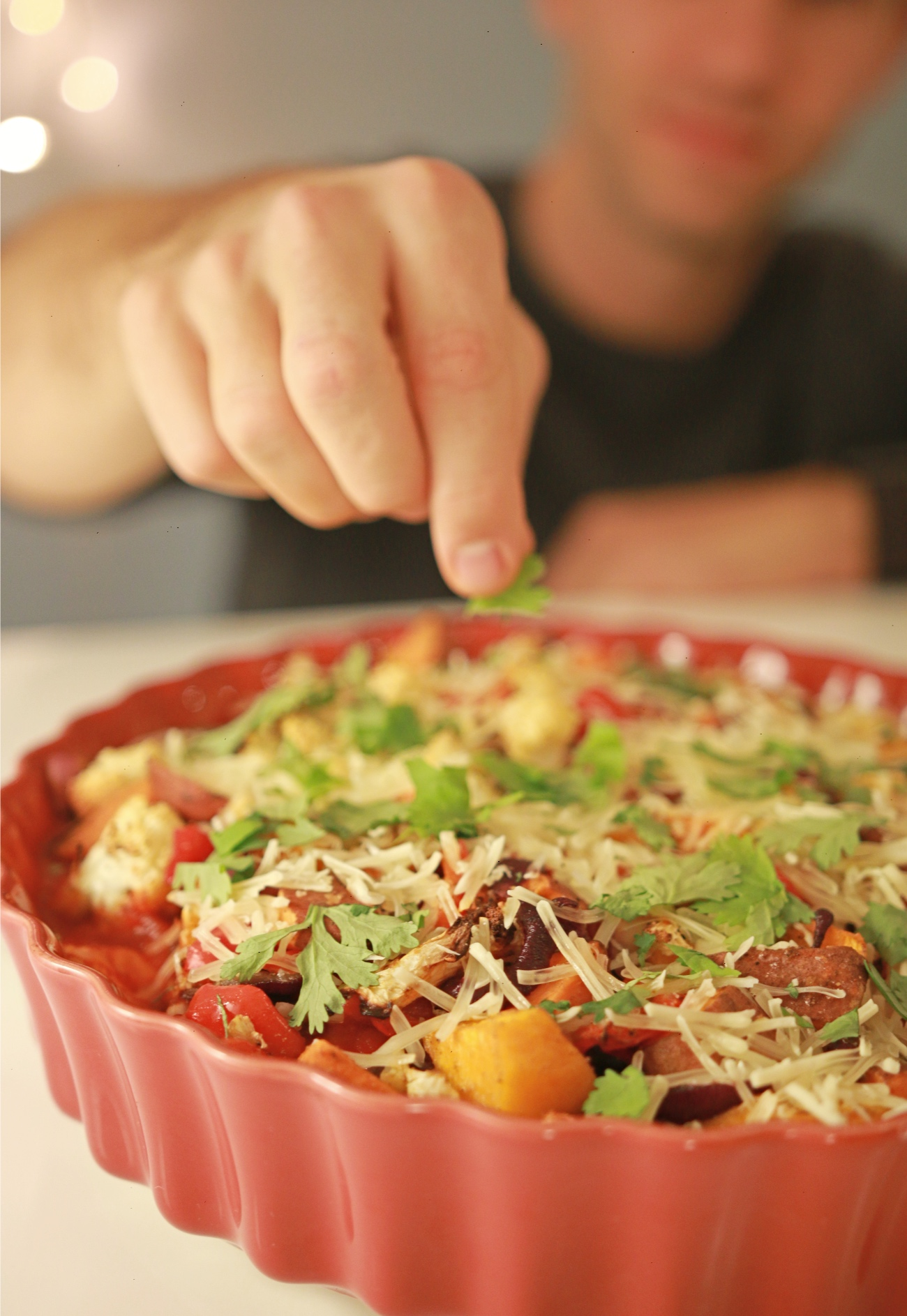 groente casserole - makkelijke ovenschotel