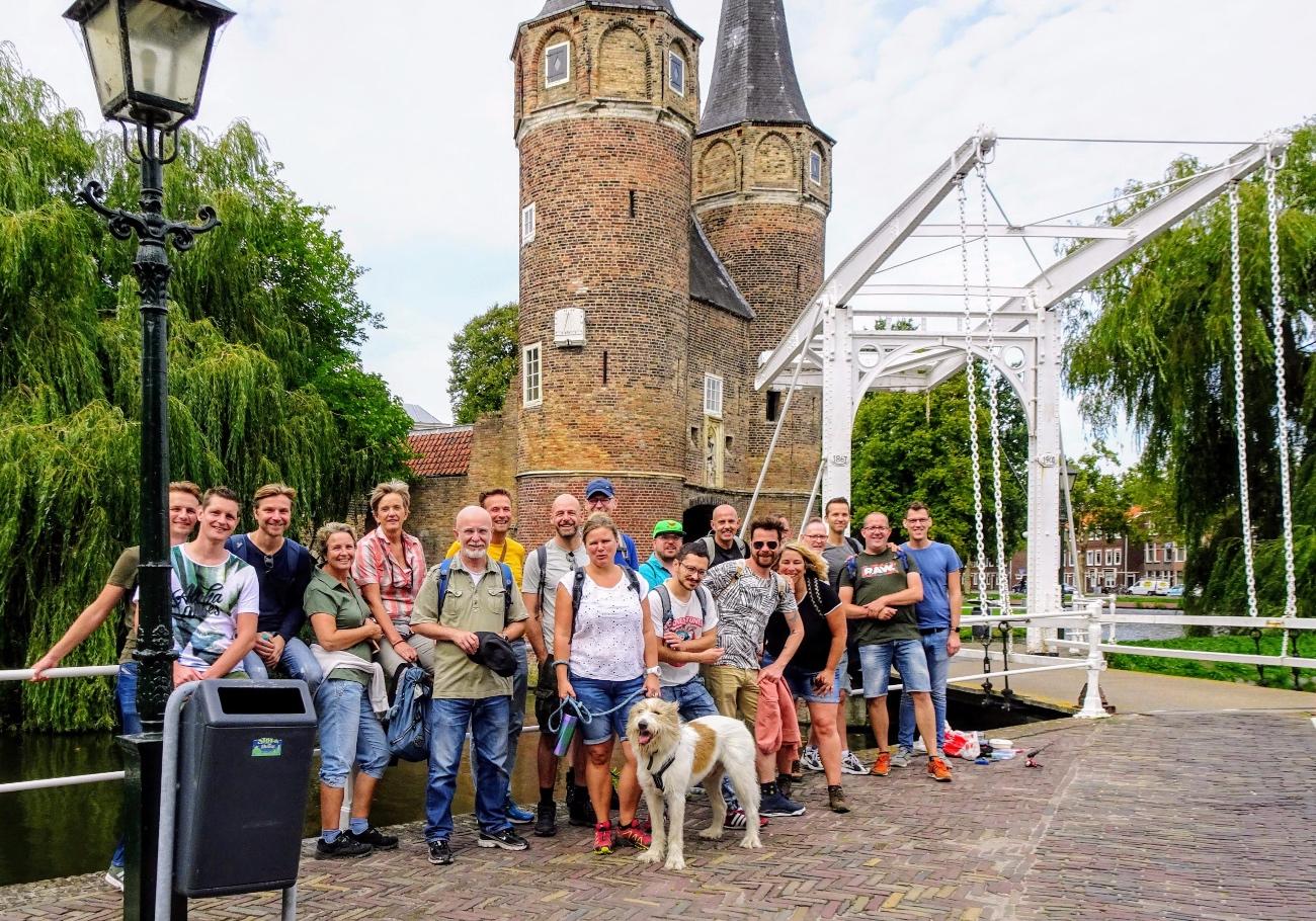 Wandelen in Delft