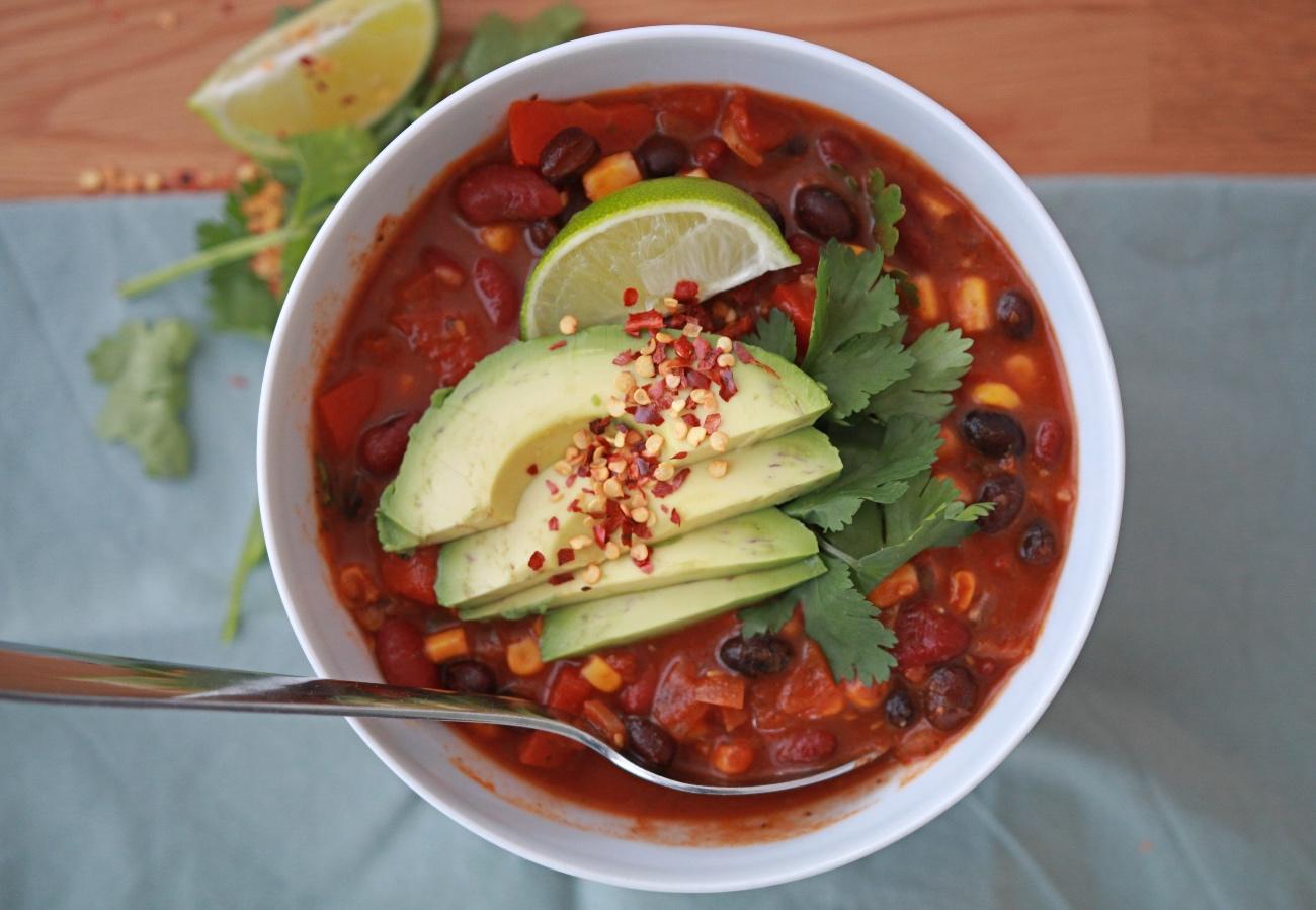 Vegan Mexicaanse bonensoep recept