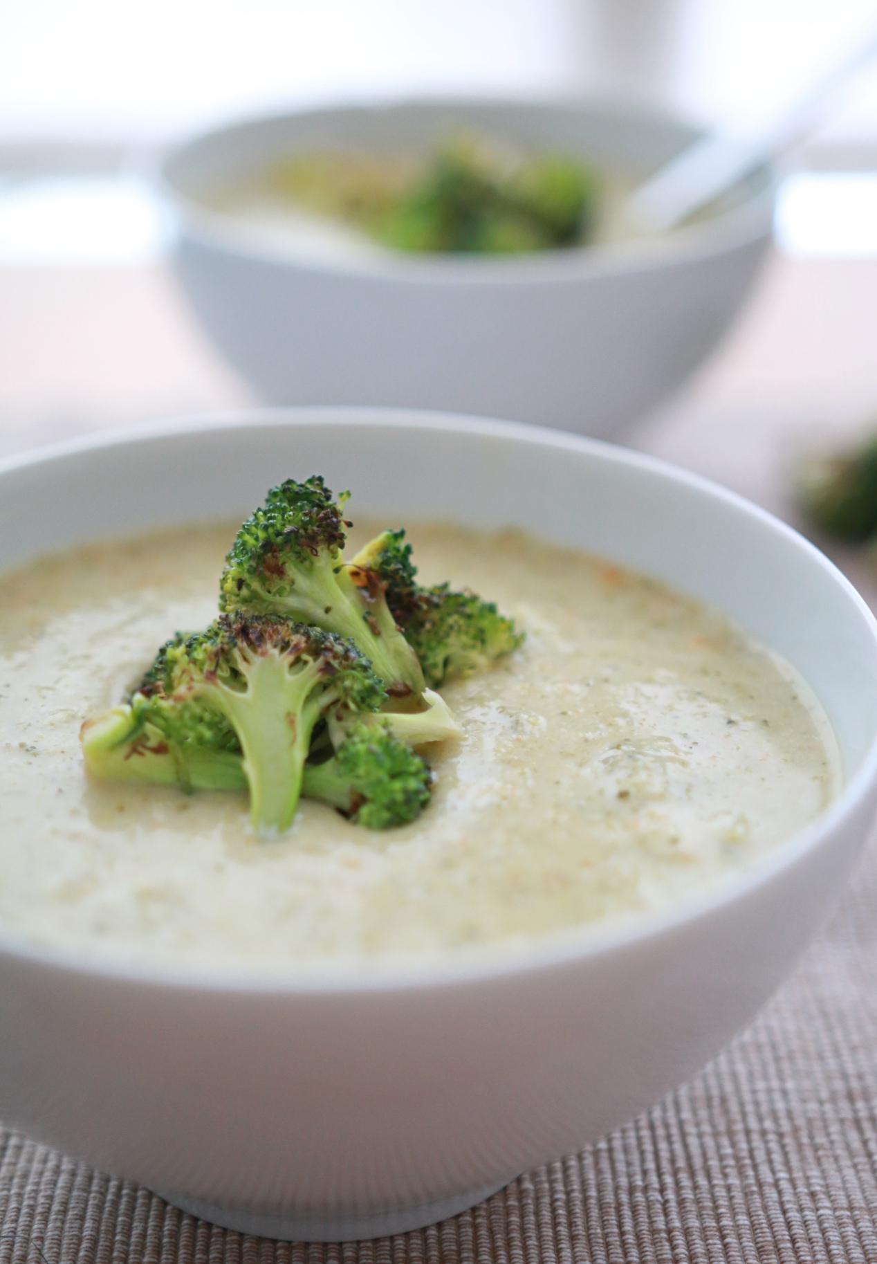 romige broccolisoep recept