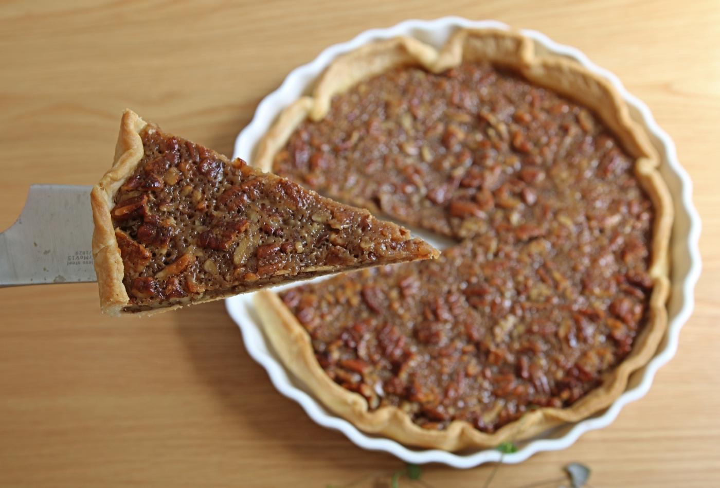 plantaardige pecan pie recept