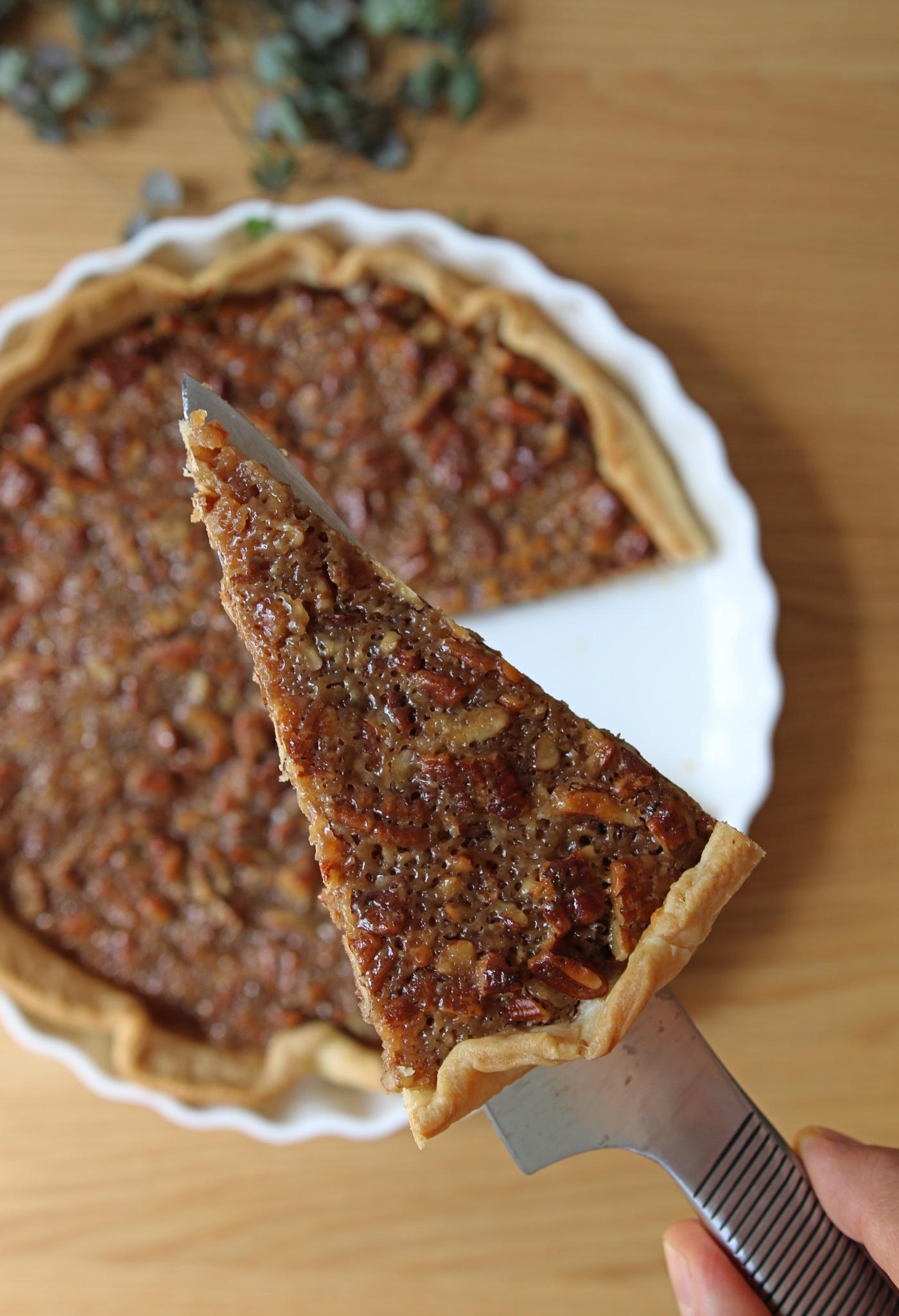 vegan pecan pie recept