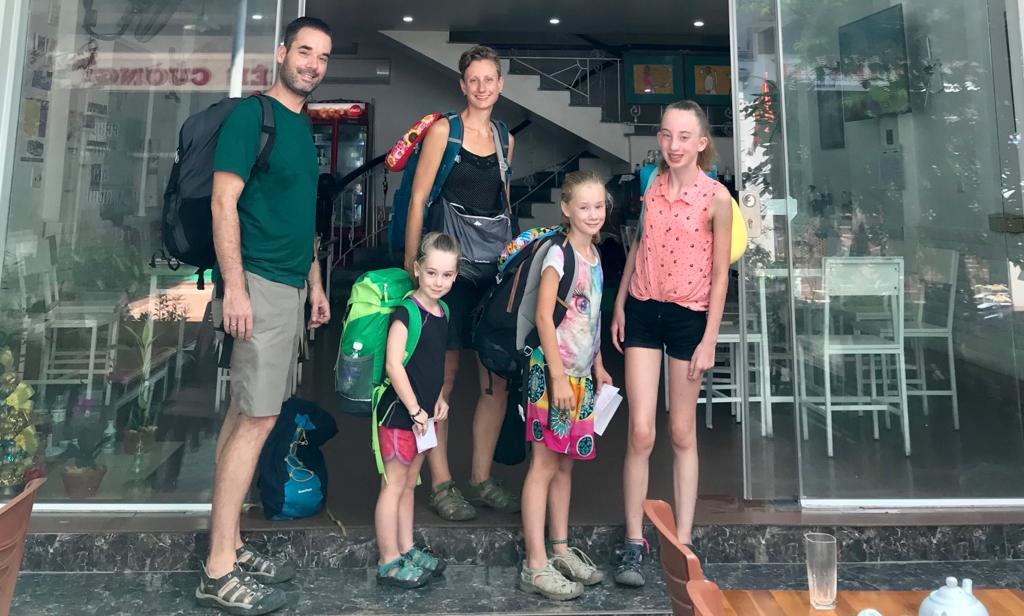 ultralight backpacken - verre reizen met kinderen