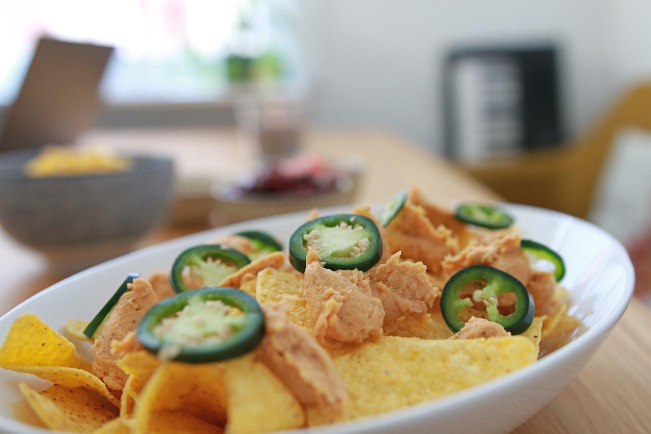 vegan nachos opmaken