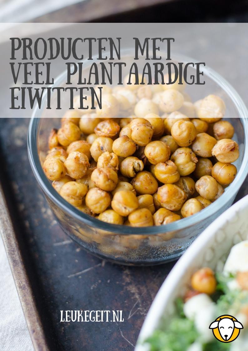 lijst met plantaardige eiwitten