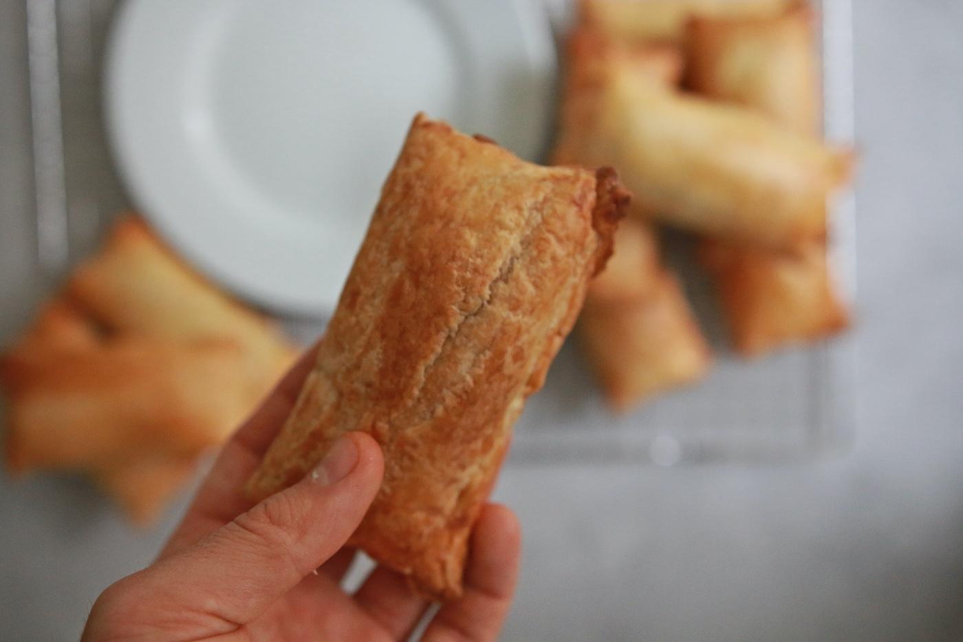plantaardige saucijzenbroodjes recept