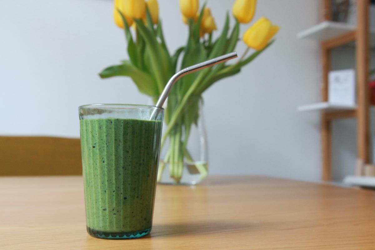groene smoothie als makkelijk ontbijt