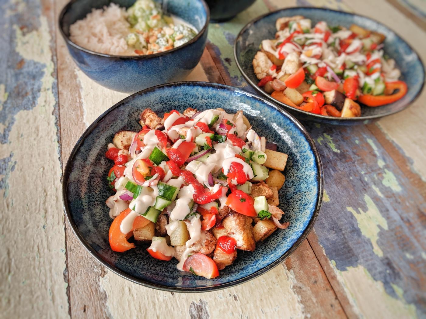 Libanese groenteshoarma