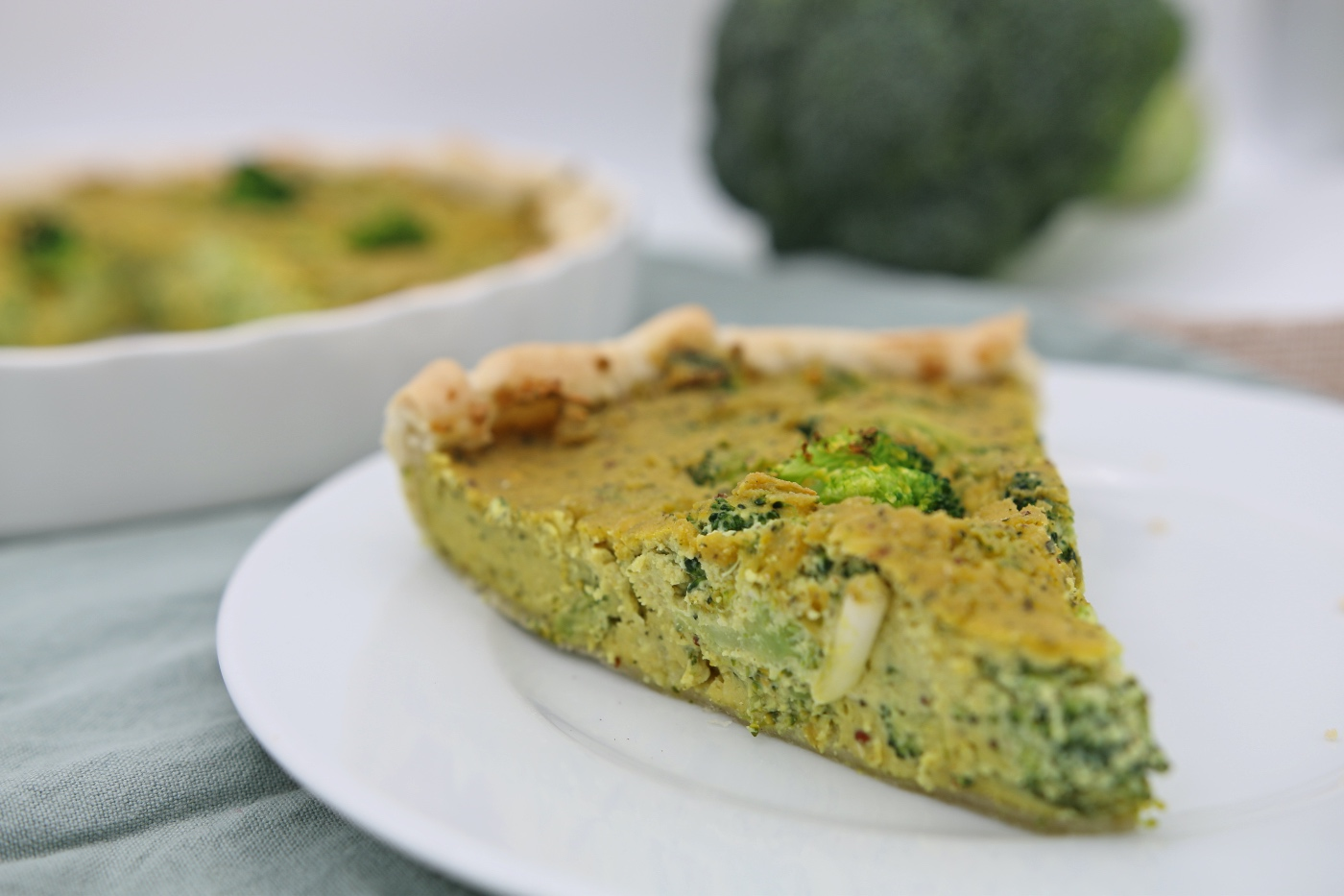 quiche recept met broccoli