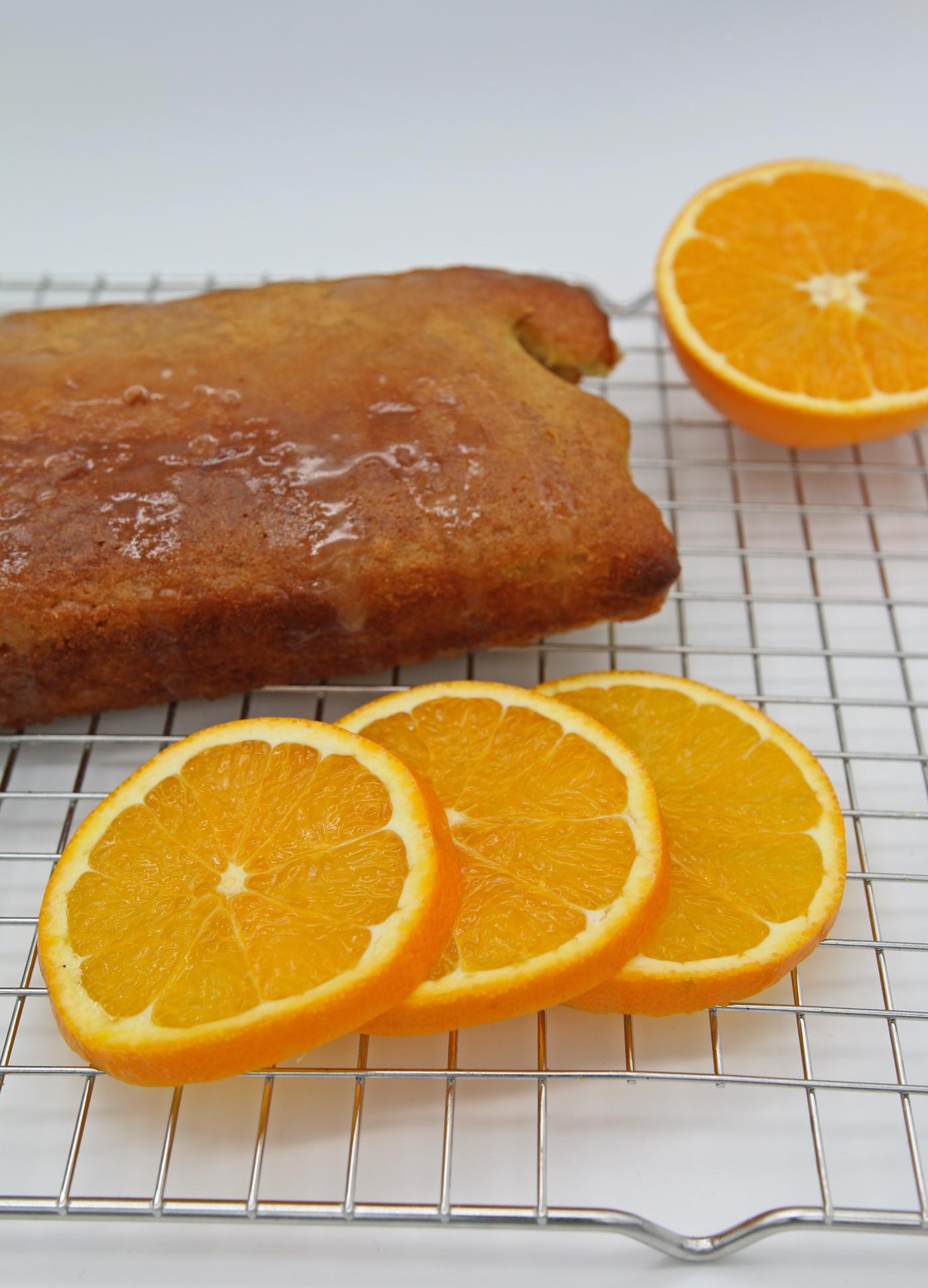 makkelijke en lekkere sinaasappelcake