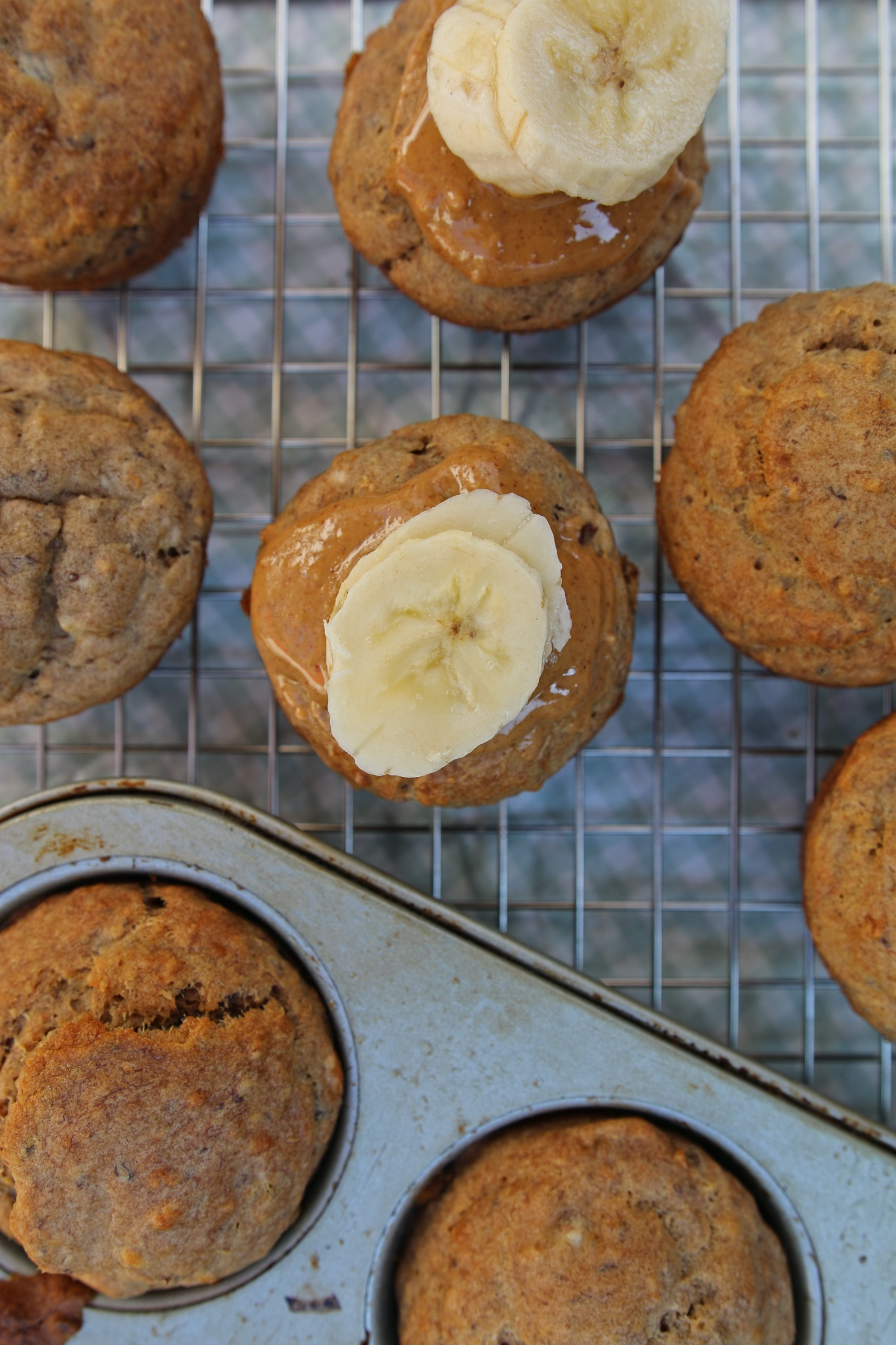 bananenmuffins zonder suiker