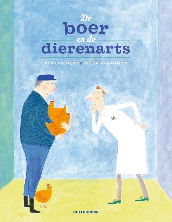 Kinderboek 'De boer en de dierenarts