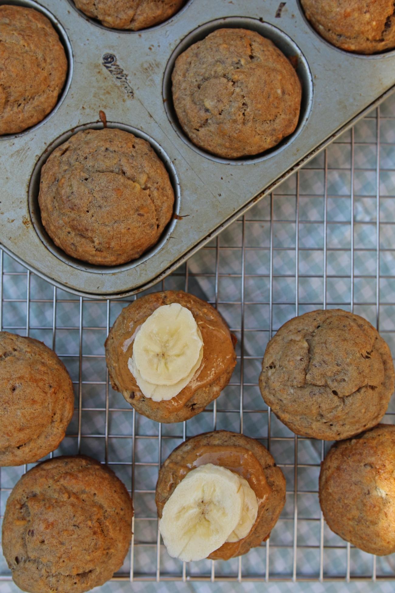 gezonde muffins zonder suiker