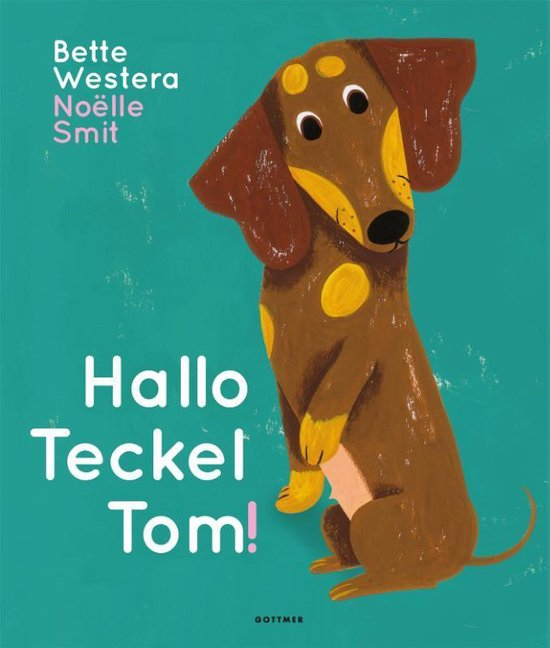 Kinderboek Hallo Teckel Tom
