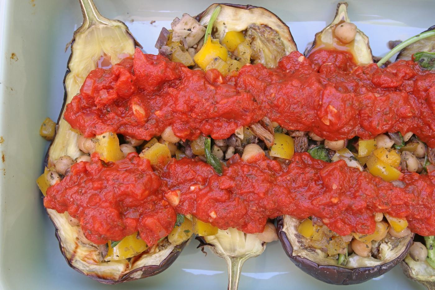 Aubergine uit de oven recept
