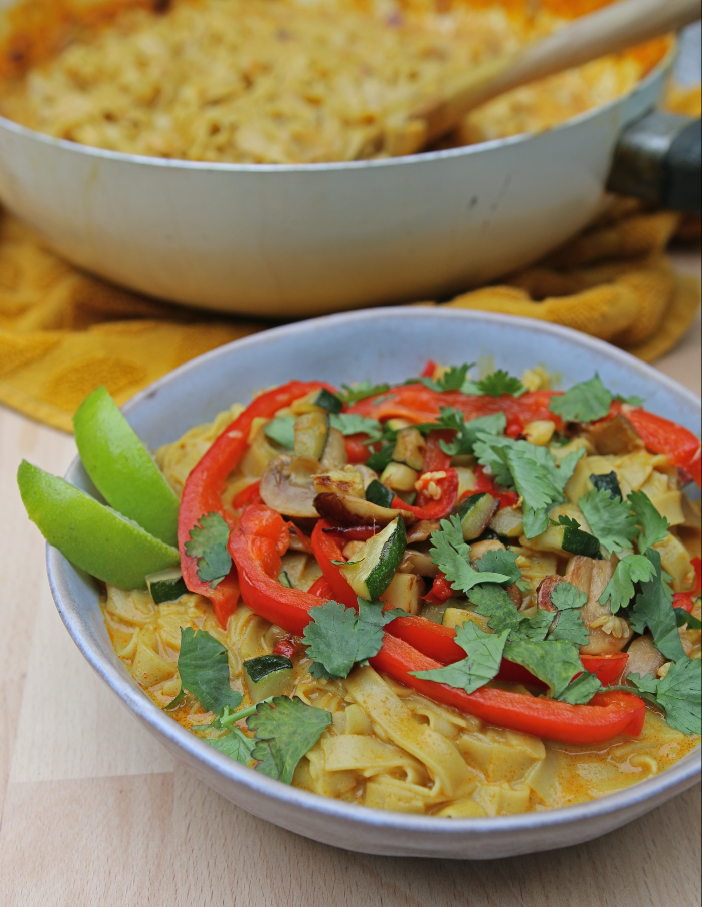 Thaise currysoep recept