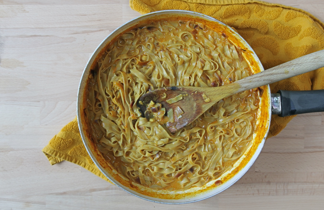 Thaise currysoep met noedels