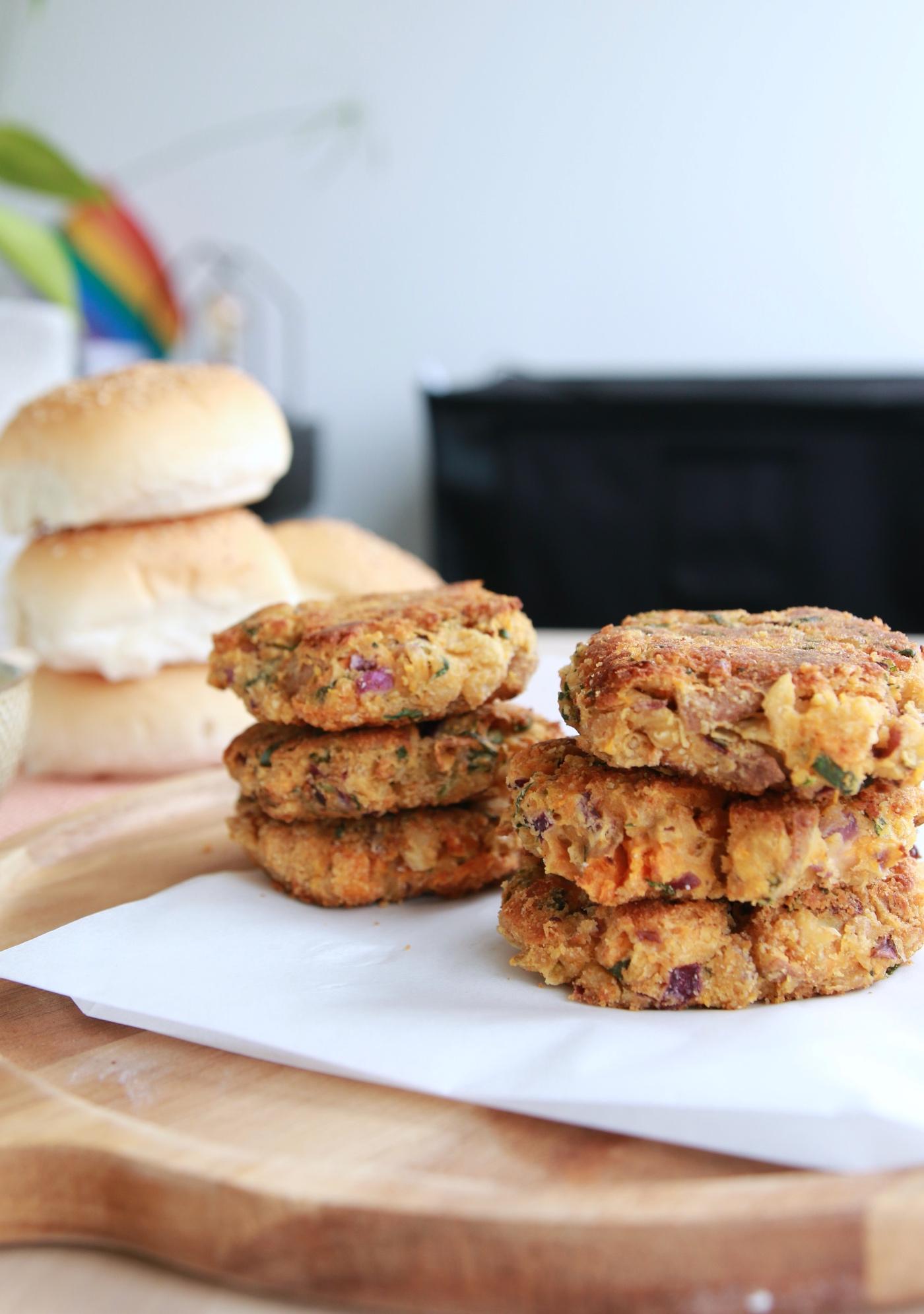 vegan burger recept patties