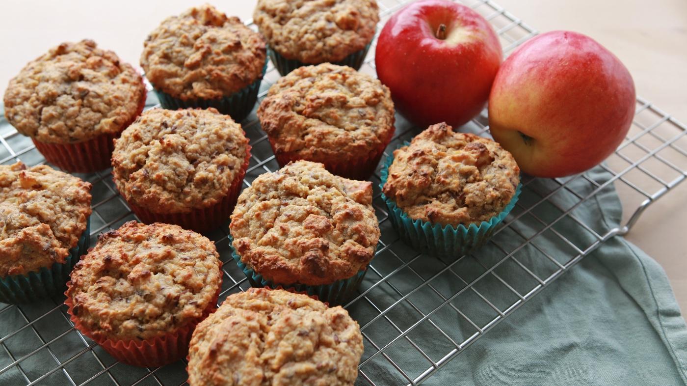 gezonde appelmuffins recept