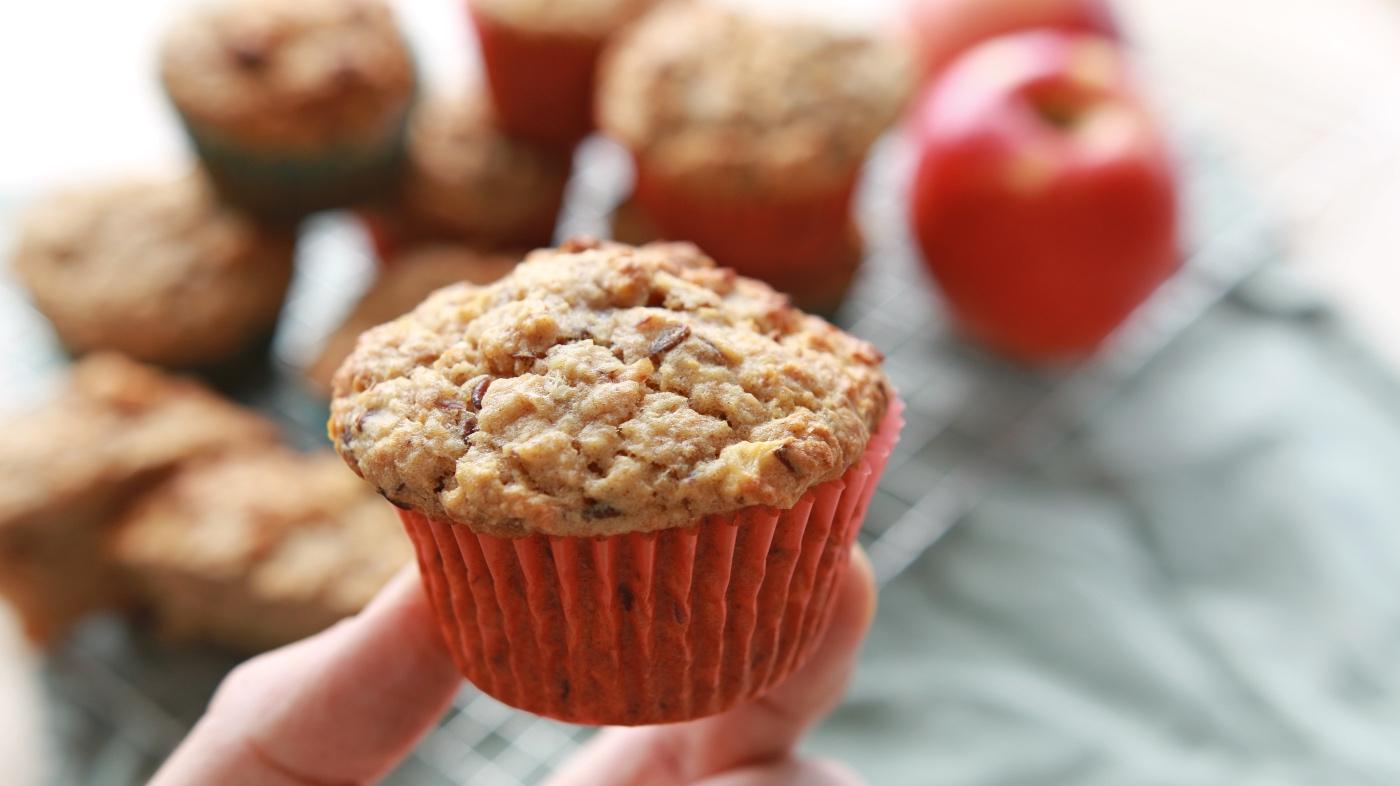recept gezonde appelmuffins