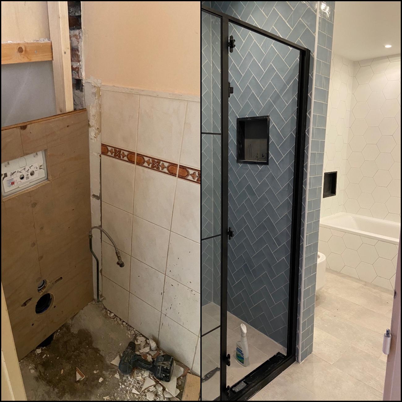 Badkamer en toilet renoveren