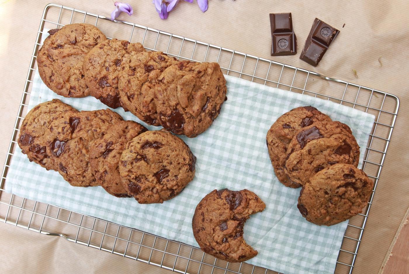 Chocolate chip cookies recept - vegan
