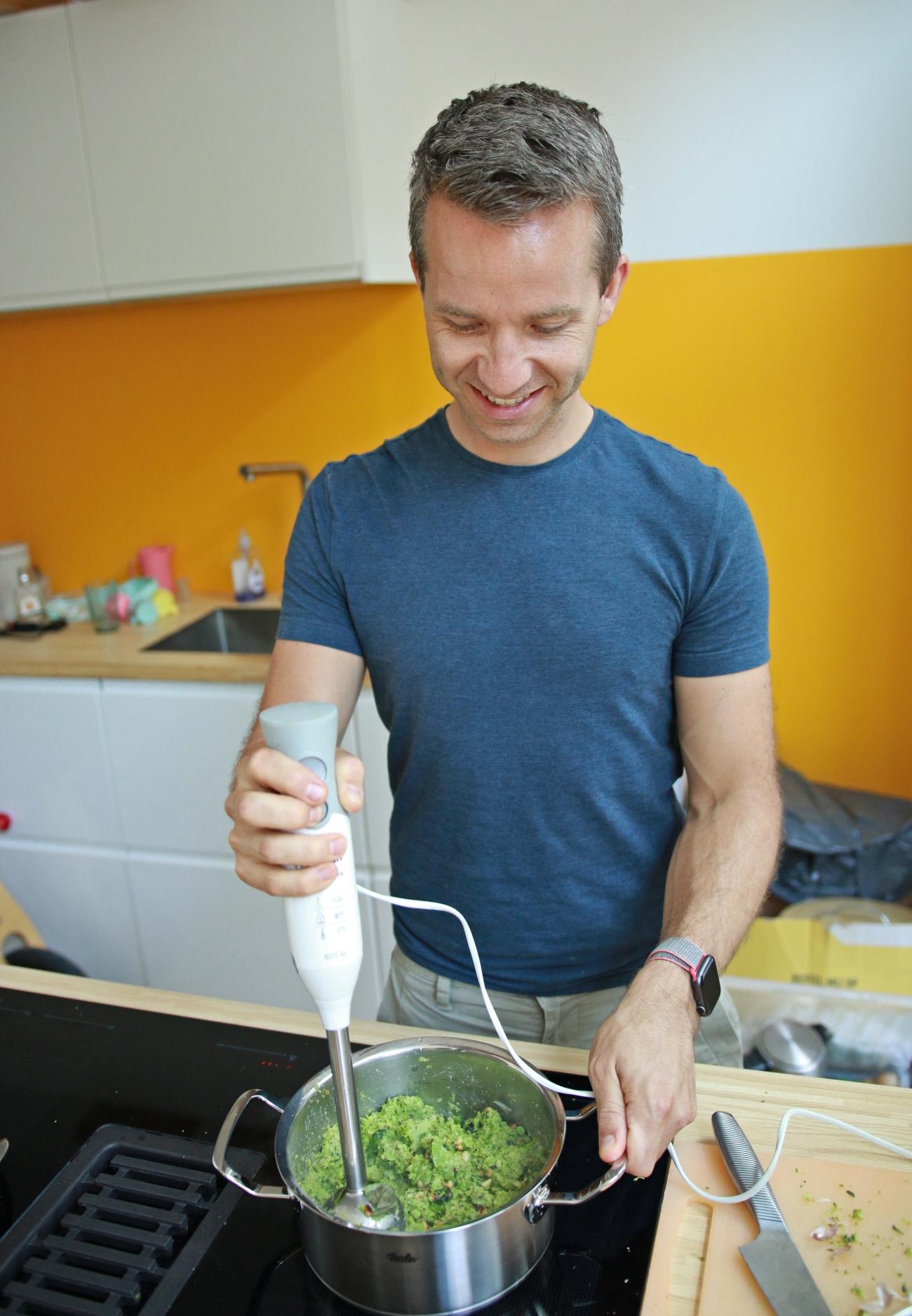 broccoli pesto met pasta