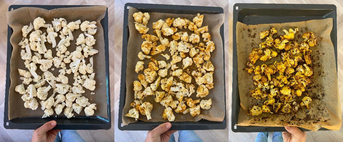 bloemkool roosteren in de oven