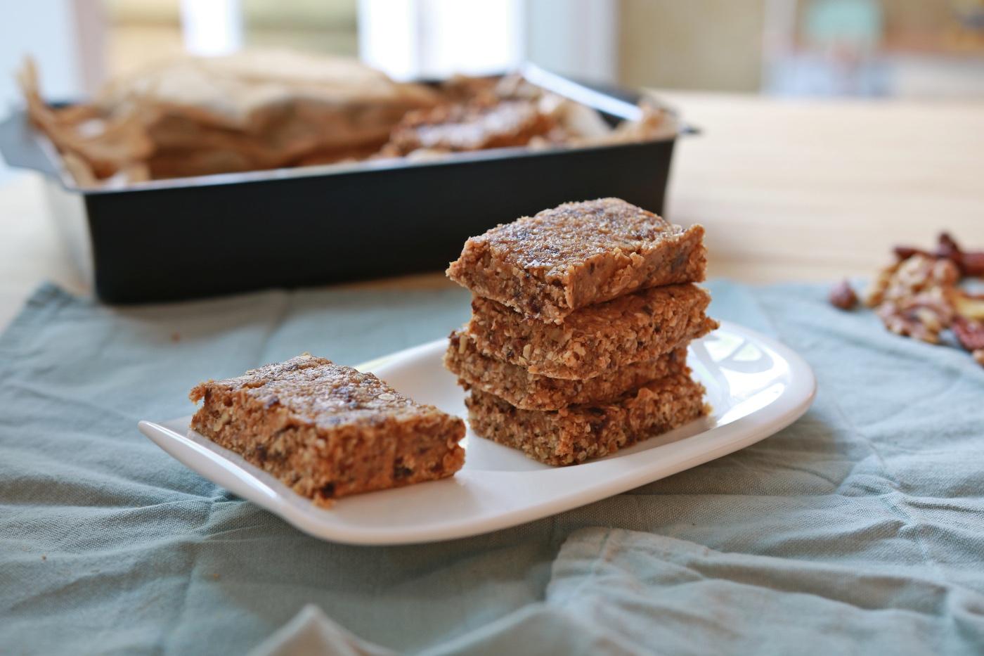 recept makkelijke granola repen